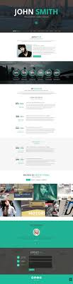 professional online resume cv wordpress themes a john smith online cv wordpress theme