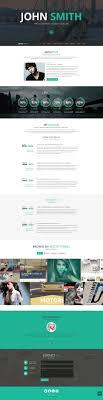 19 professional online resume cv wordpress themes 2014 a john smith online cv wordpress theme