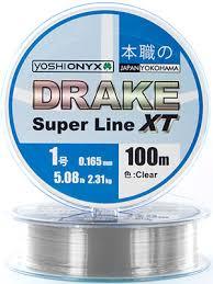 <b>Леска Yoshi Onyx DRAKE</b> SUPERLINE XT 100 M 0.261 mm Clear ...