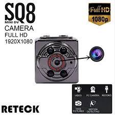 Amazon.com : RETECK <b>SQ8 Mini</b> DV <b>Camera</b> 1080p Full <b>HD</b> Car ...