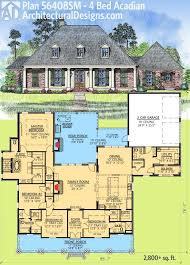 images about Acadian Style House Plans on Pinterest    Architectural Designs Bed Acadian House Plan has generous outdoor entertaining space and almost   sq