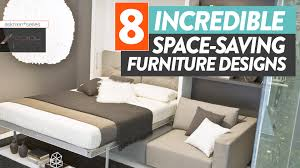 saving furniture. this space saving furniture will save your small apartment aspire youtube
