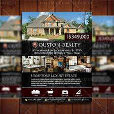 flyers real estate lead generator elegant real estate listing design