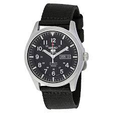 seiko 5 sport automatic black canvas men s watch snzg15 seiko 5 seiko 5 sport automatic black canvas men s watch snzg15