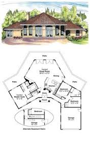 images about Octagon Style House Plans on Pinterest   Cool    COOL House Plan ID  chp    Total living area  sq ft