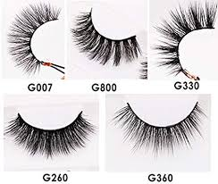 MINTHE <b>5</b> style <b>5 pairs</b> faux <b>3D Mink</b> lashes multipack with an ...