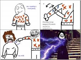 Static electric - Memes Comix Funny Pix via Relatably.com