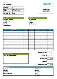Free Invoice Templates - by SliQTools Invoice Template Preview. Free Invoice Template