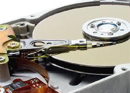 inside of a hard drive