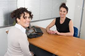w recruiter checking the candidate during job interview stock stock photo w recruiter checking the candidate during job interview