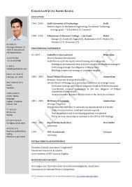 doc 638826 harvard application resume format dignityofrisk com resume format for job application
