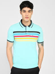 Get <b>Duke</b> Stripes Polo T-Shirt Online in India