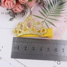 2019 <b>new Fashion shiny</b> crown and ribbon hairpins combination ...