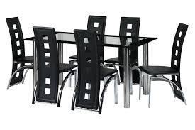 faux leather dining chair black:  black faux leather dining chairs in ayr south ayrshire gumtree