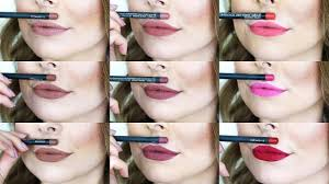 <b>MAC Lip Liner</b> Swatches! | Soar, Stripdown, Whirl, Cherry & more ...