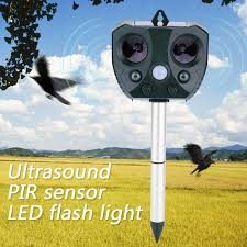 <b>Ultrasonic Pest Repeller Solar</b> Power Eco Friendly <b>Ultrasonic</b> Pest ...