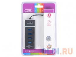 <b>Концентратор CBR</b> CH 157, 4 порта, <b>USB</b> 3.0 Поддержка ...
