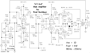 li    l x  quot  tube amplifier   how it worksli    l x main amplifier circuit