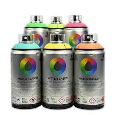 Аэрозольная <b>краска MTN Water</b> Based 300 мл | Azur Art Shop ...