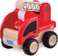 """<b>Деревянная игрушка</b> """"Пожарная машина, <b>Miniworld</b>"""" — купить в ..."""