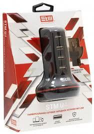 Зарядное устройство <b>STM</b> U4, 1000490618, черный — купить в ...