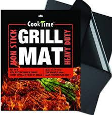 <b>Grill Mats</b>, <b>Heat Resistance</b> 600 Degrees & <b>Non</b>-<b>Stick</b> BBQ Grill ...