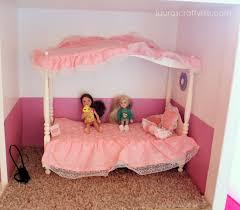 diy barbie house lauras crafty life barbie bedroom furniture