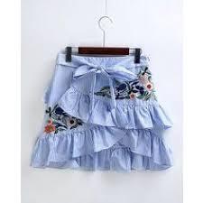 34 Best Bottoms images | <b>Feminine</b> fashion, High waist, Denim skirts