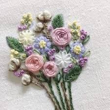 Вышивка ленточная: лучшие изображения (90) | Embroidery ...