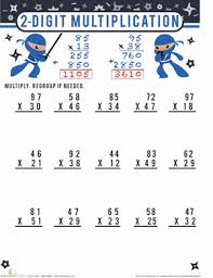 Worksheet Works Division - 3 Digit with 2 Numbers Multi ...Math Worksheet : Two Digit By Two Digit Multiplication Worksheet Works 2 digit Worksheet Works Division