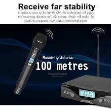 Microphone professional <b>G</b>-<b>MARK G320AM</b> UHF 2 channels party ...