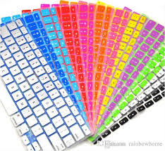 Laptop Soft Silicone Colorful <b>KeyBoard</b> Case Protector Cover Skin ...