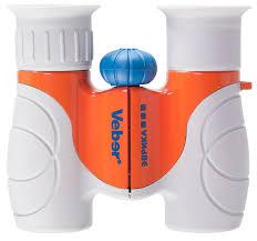 <b>Бинокль</b> детский <b>Veber</b> Эврика 6x21 серый/оранжевый купить в ...