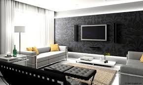 Small Picture Modern Simple Home Interior Design Hall With Wonderful Furniture