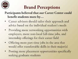 focus group findings natalie kates 2011 career center focus group key findings page 9