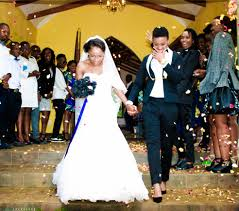 anele and seipati get married  a photo essay   this is africa    anele mkuzo and her new bride seipati magape after their wedding ceremony in pretoria  south