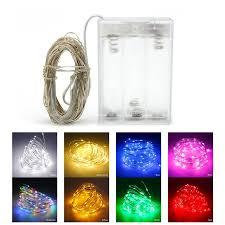 Online Shop <b>10M 5M</b> 100 50 <b>LED</b> 3XAA Battery <b>LED</b> String Lights ...