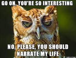Disinterested Owl - Meme on Imgur via Relatably.com