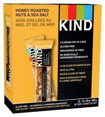 <b>Ореховый батончик Be-Kind</b> Honey Roasted Nuts & Sea Salt, 12 шт