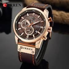 CURREN 8291 Luxury Brand Men Analog Digital Leather ... - Vova