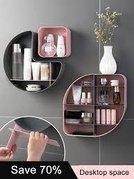 Home Fashion Drawer <b>Makeup Storage Box</b> Bathroom Brush ...