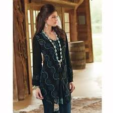 burch eyelet tunic from crows nest trading co cheyanne leather trend sofa