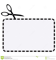blank coupon clipart clipart kid illustration of a coupon dotted line for cutting clipart