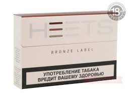 Купить Bronze Label <b>Heets</b> - <b>стики</b> для <b>IQOS</b> - Папироска.рф