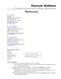 doc example of reference page for resume com now