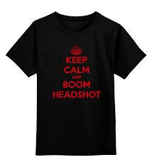 Детская <b>футболка классическая</b> унисекс <b>Printio Keep</b> Calm art ...