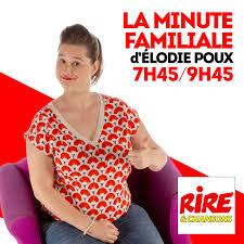 La minute familiale d'Elodie Poux