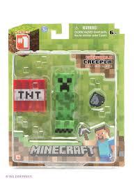 <b>Игровой набор</b> 'Крипер.<b>Фигурка</b> с аксессуарами'. от <b>Minecraft</b> по ...