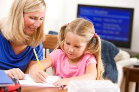 Learning Archives   North Shore Pediatric Therapy North Shore Pediatric Therapy homework with mom and daughter