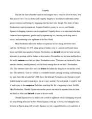 essay about the great gatsby   death results from a dream in the   pages essay about empathy